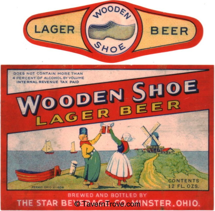 Wooden Shoe Lager Beer